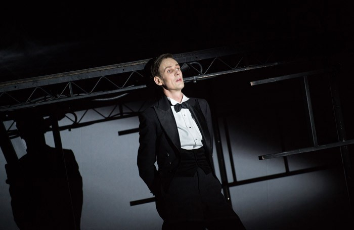 Ian Bostridge in The Dark Mirror at Barbican Theatre, London. Photo: Hugo Glendinning