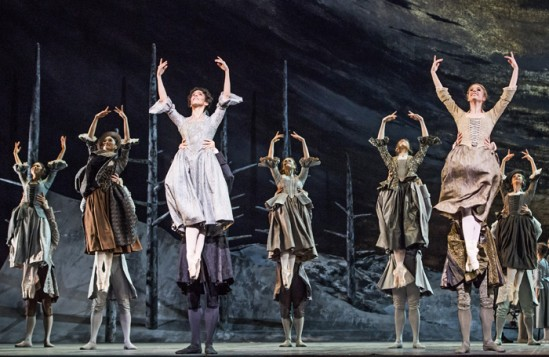 A scene from the Royal Ballet's production of Frankenstein. Photo: Tristram Kenton