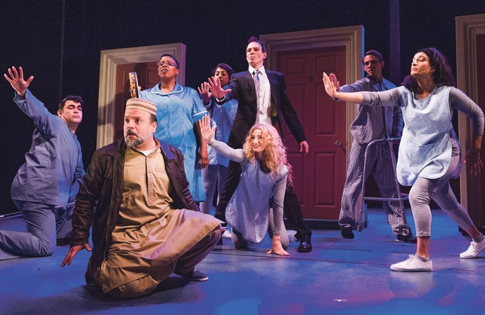 The Infidel – The Musical at Theatre Royal Stratford East. Photo: Tristram Kenton