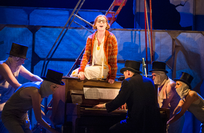 Rosalie Craig in The Threepenny Opera at the National Theatre. Photo: Richard H Smith