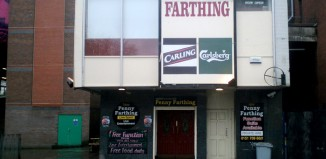 Liverpool's Royal Court is set to buy the next door pub, called the New Penny Farthing. Photo: Rodhullandemu