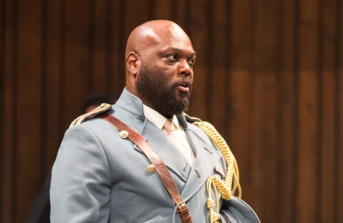 Peter Macon in Othello at the Abbey Theatre, Dublin. Photo: Pat Redmond