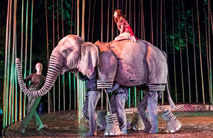 Ava Potter in Running Wild at Regent's Park Open Air Theatre, London