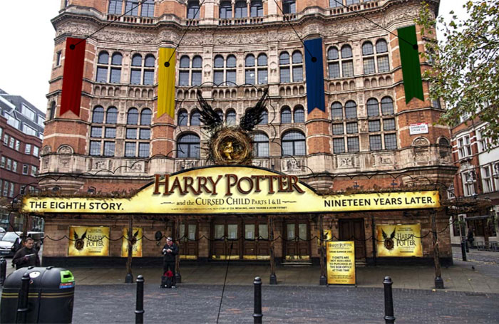 Palace Theatre plans Hogwarts-themed Harry Potter facade