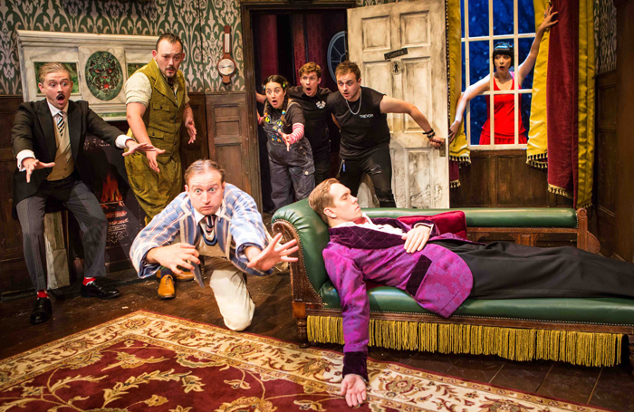 The Play That Goes Wrong Heads To Broadway News The Stage