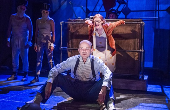 The Threepenny Opera at the National Theatre, directed by Rufus Norris. Photo: Tristram Kenton