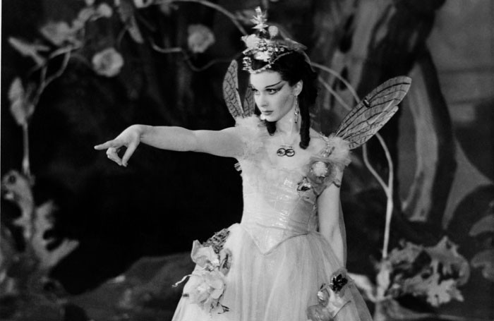 Vivien Leigh as Titania in A Midsummer Night's Dream