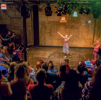 Beyond the Ridiculous at the Wardrobe Theatre. Photo: Paul Blakemore