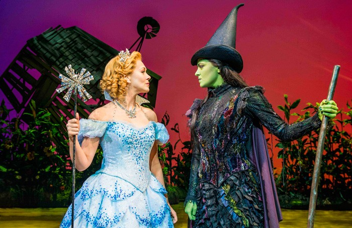 Savannah Stevenson and Jennifer DiNoia in Wicked, one of the shows researched by Which?. Photo: Matt Crockett
