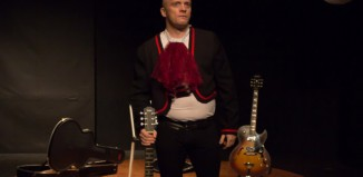 James Cairns in El Blanco: Tales of the Mariachi at the Brighton Fringe. Photo: Dex Goodman