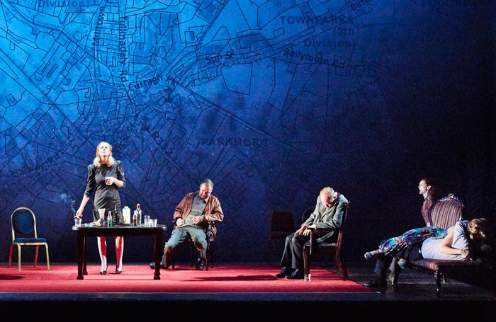 Scene from The Wake at Abbey Theatre, Dublin. Photo: Ros Kavanagh