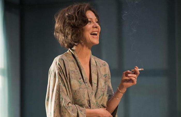 Helen McCrory in The Deep Blue Sea at the National Theatre. Photo: Richard Hubert Smith