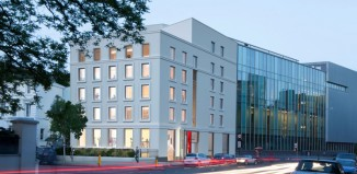 Artist's impression of how the Royal Central School of Speech and Drama exterior will appear