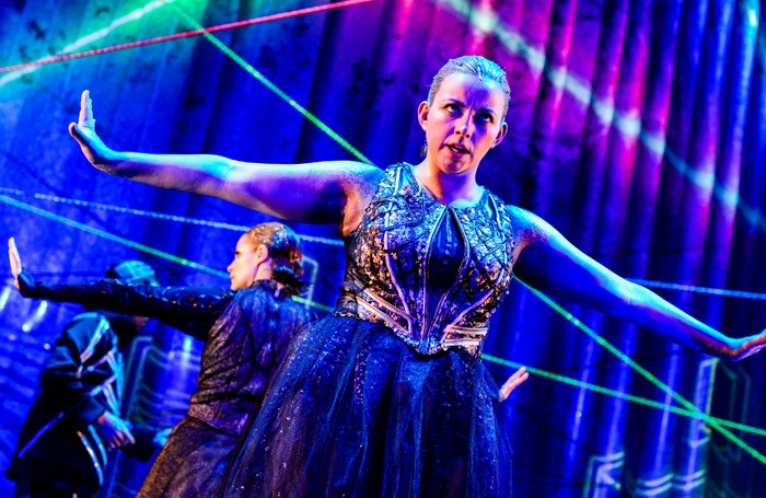 Charlotte Church in The Last Mermaid at Wales Millennium Centre, Cardiff.