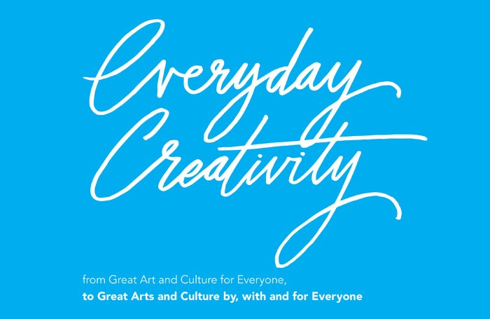 """The report by 64 Million Artists calls on Arts Council England to recognise """"everyday creativity"""""""