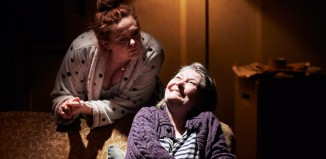 Kate Gilmore and Barbara Brennan in Town is Dead at Abbey Theatre, Dublin.