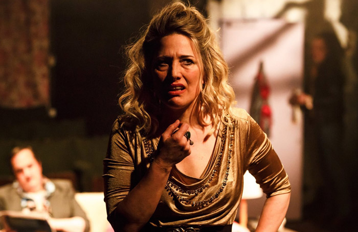 Charlotte Gorton in The Rise and Fall of Little Voice at Union Theatre, London.