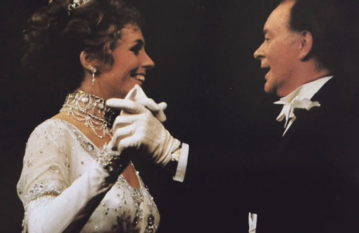 Liz Robertson and Tony Britton in a 1979 revival of My Fair Lady