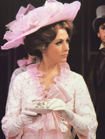Liz Robertson in a 1979 revival of My Fair Lady