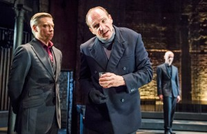 Ralph Fiennes in Richard III at Almeida Theatre, London. Photo: Tristram Kenton