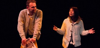 Alexander Wilson and Joyce Veheary in I'm Just Here to Buy Soy Sauce at Old Red Lion, London.