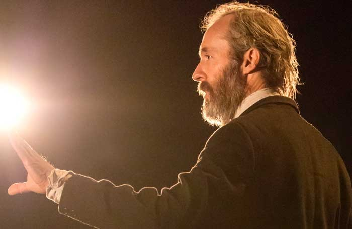 Stephen Dillane in Faith Healer at the Donmar Warehouse Photo: Johan Persson