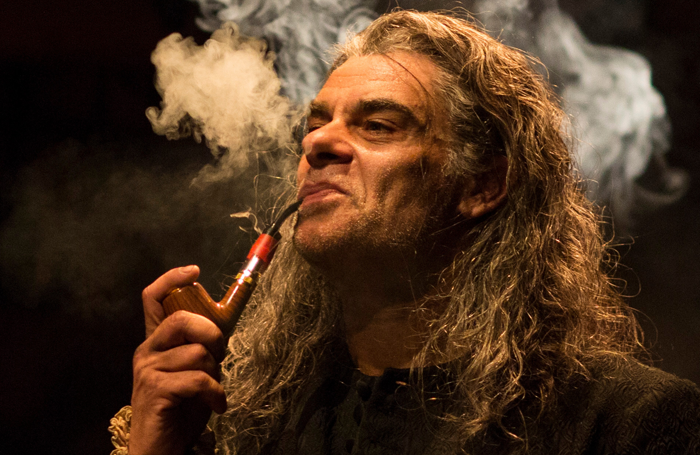 Mark Lockyer in The Alchemist at the Swan Theatre. Photo: Helen Maybanks