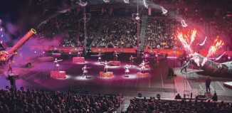 The Ringling Bros and Barnum and Bailey touring arena show Circus Xtreme is typical of traditional-style commercial circus in the US. Photo: Feld Entertainment