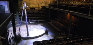 The Arcola's auditorium. Photo: Miriam Mahony/Arcola Theatre