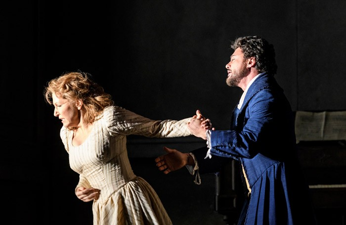 Joyce DiDonato and Vittorio Grigolo in Werther at the Royal Opera House, London. Photo: Bill Cooper