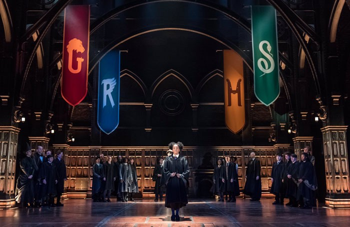 Harry Potter and the Cursed Child previews have begun at the Palace Theatre in the West End. Photo: Twitter
