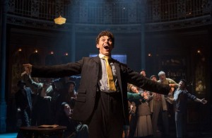 Charlie Stemp as Arthur Kipps in Half a Sixpence at Chichester Festival Theatre. Photo: Manuel Harlan