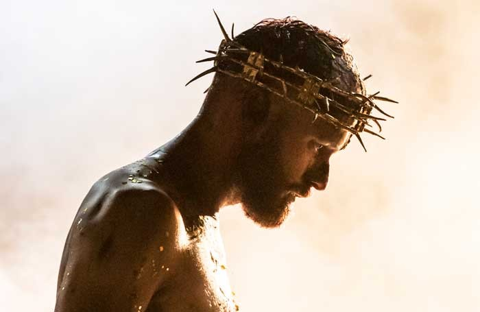 Declan Bennett in Jesus Christ Superstar at Regent's Park Open Air Theatre. Photo: Johan Persson