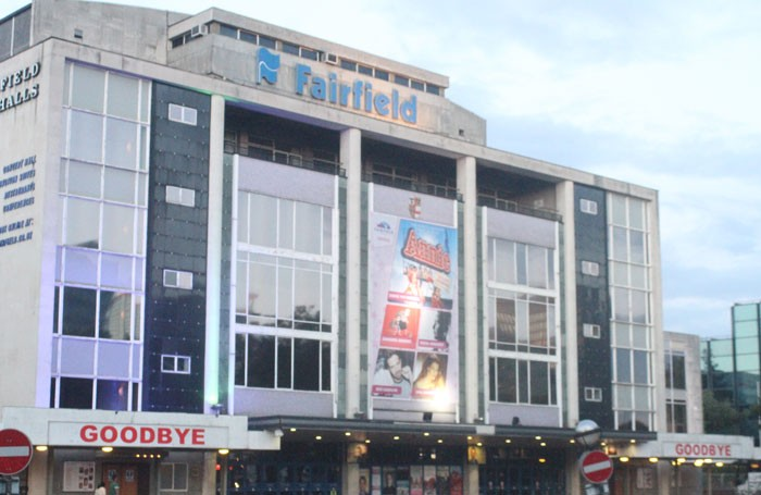 Fairfield Halls says goodbye, as it closes for a £30 million redevelopment. Photo: Desmond FitzGerald