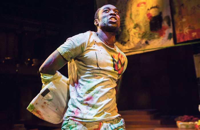 Coveted role: Paapa Essiedu in the Royal Shakespeare Company's production of Hamlet. Photo: Tristram Kenton