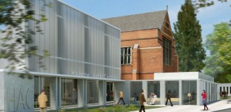 Artist's impression of how the proposed Harrow Arts Centre redevelopment will look. Photo: Andrzej Blonski