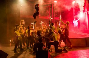 Jesus Christ Superstar at the Open Air Theatre, London