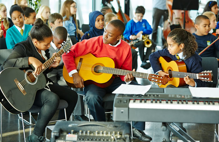 The Mayor's Music Fund awards scholarships to London primary school children from under-privileged backgrounds. Photo: Paul J Cochrane