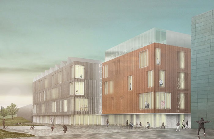 An architect's impression of Mountview's new Peckham site