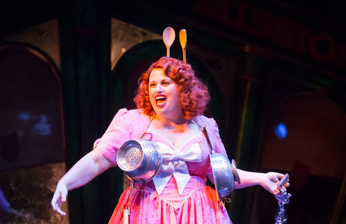 Rebel Wilson in Guys and Dolls at Phoenix Theatre, London. Photo: Johan Persson