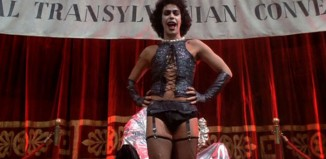 Tim Curry in the film The Rocky Horror Picture Show