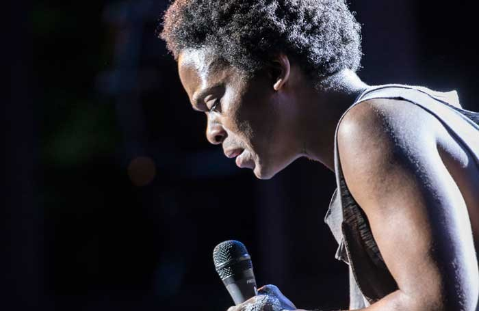 Tyrone Huntley in Jesus Christ Superstar. Photo: Johan Persson