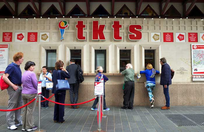 SOLT's ticket office in Leicester Square, London. Photo: Thinglass/Shutterstock.com