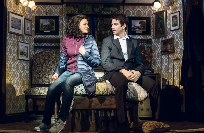 Groundhog Day at the Old Vic. Photo: Manuel Harlan