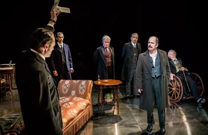 Strife at the Minerva Theatre, Chichester. Photo: Johan Persson