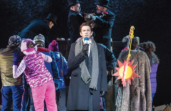 Andy Karl stars in Groundhog Day at the Old Vic Theatre in London