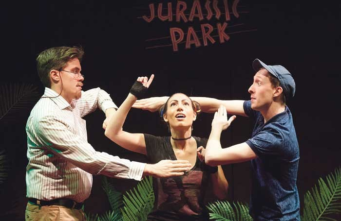 Dinosaur Park, produced by James Seabright at the St James Theatre, started life in Edinburgh. Photo: Geraint Lewis