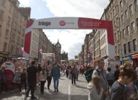 Tickets sold at the Edinburgh Fringe 2016 marked a 7.7%increaseon 2015