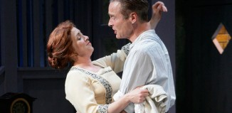 Helen Logan and Mark Elstob in This happy Breed at Pitlochry Festival Theatre. Photo: Douglas McBride
