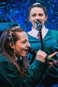Kirsty MacLaren, and Melissa Allan in Our Ladies of Perpetual Succour. Photo: Mihaela Bodlovic